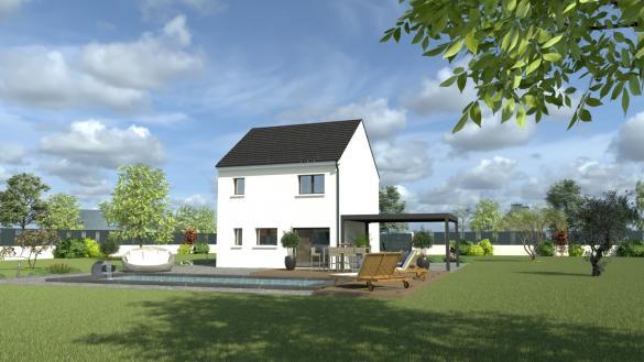 Maison+Terrain à vendre .(100 m²)(HERBLAY) avec (MAISON I - AGENCE COMPIEGNE)