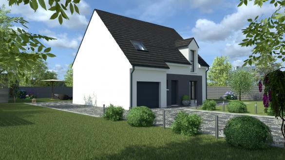 Maison+Terrain à vendre .(110 m²)(MARCHEMORET) avec (MAISON I - AGENCE COMPIEGNE)