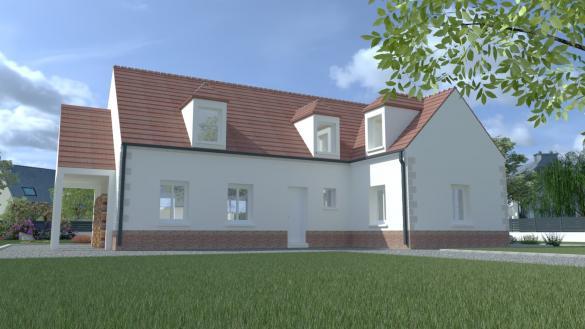 Maison+Terrain à vendre .(160 m²)(MONTAIGU) avec (MAISON I - AGENCE COMPIEGNE)