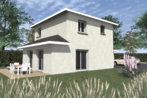 Maison à vendre .(100 m²)(MIONS) avec (MAISONS VESTALE 69)