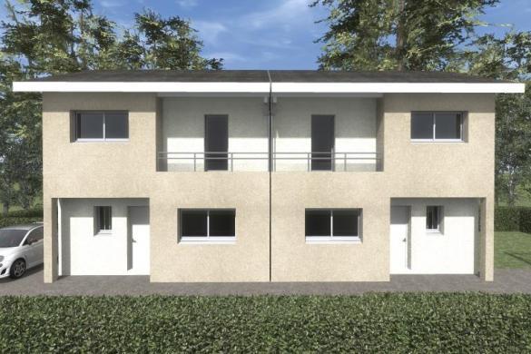 Maison à vendre .(85 m²)(OULLINS) avec (MAISONS VESTALE 69)