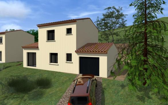 Maison à vendre .(95 m²)(PIGNANS) avec (MAISON IDEALE 83)