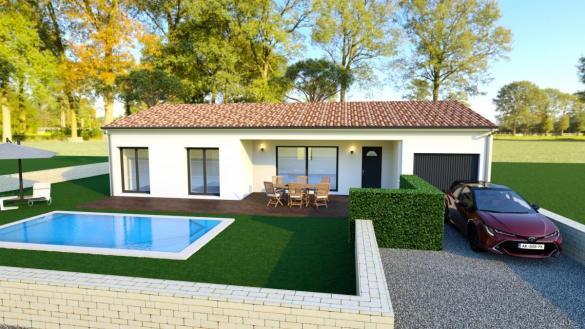 Maison à vendre .(73 m²)(PIGNANS) avec (MAISON IDEALE 83)