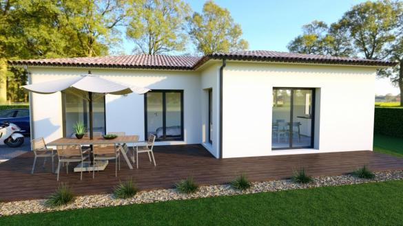 Maison à vendre .(100 m²)(LA CRAU) avec (MAISON IDEALE 83)