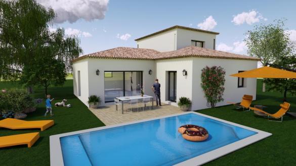 Maison à vendre .(91 m²)(LE CASTELLET) avec (TRADICONFORT 13)