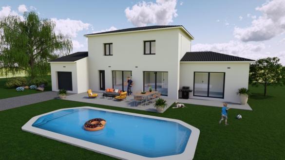 Maison à vendre .(100 m²)(CHATEAU GOMBERT) avec (TRADICONFORT 13)