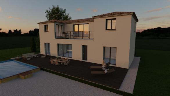 Maison à vendre .(110 m²)(CEYRESTE) avec (TRADICONFORT 13)