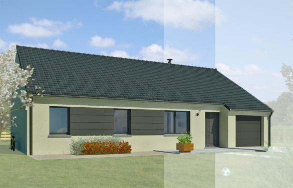 Maison+Terrain à vendre .(107 m²)(OUZOUER LE MARCHE) avec (MAISON FAMILIALE)