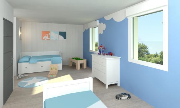 Maison+Terrain à vendre .(113 m²)(OUZOUER LE MARCHE) avec (MAISON FAMILIALE)