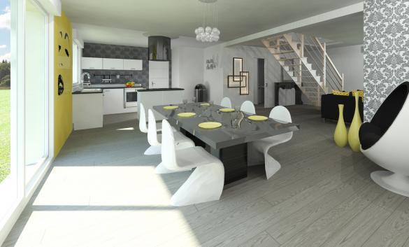 Maison+Terrain à vendre .(121 m²)(OUZOUER LE MARCHE) avec (MAISON FAMILIALE)