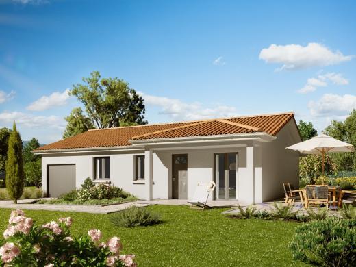 Maison+Terrain à vendre .(89 m²)(LAGNIEU) avec (MAISONS PUNCH AMBERIEU)