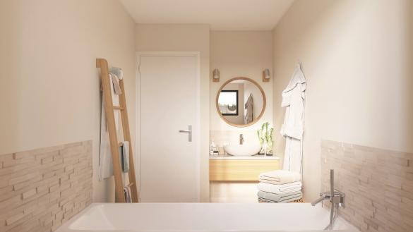 Maison+Terrain à vendre .(96 m²)(MEURCHIN) avec (Maison Castor Lezennes)
