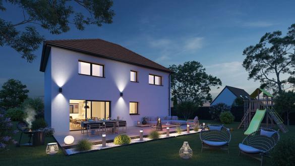 Maison+Terrain à vendre .(116 m²)(MERVILLE) avec (Maison Castor Lezennes)