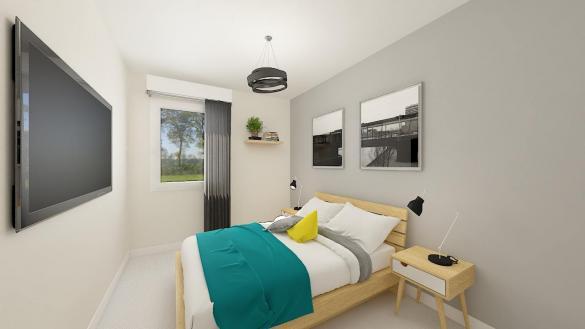 Maison+Terrain à vendre .(88 m²)(LAMBRES) avec (MAISONS PHENIX GAVRELLE)