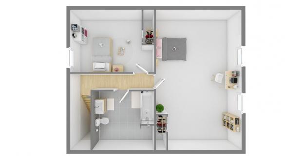 Maison+Terrain à vendre .(111 m²)(MAZINGARBE) avec (Maisons Phénix Gavrelle)