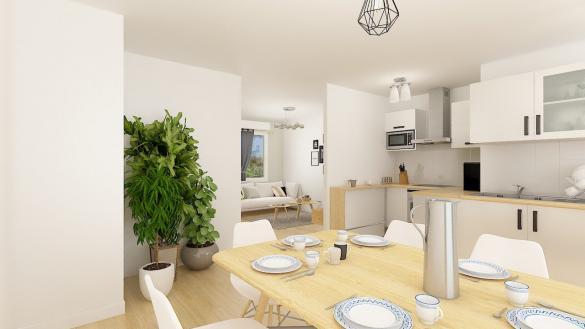 Maison+Terrain à vendre .(75 m²)(BRUAY LA BUISSIERE) avec (Maisons Phénix Gavrelle)