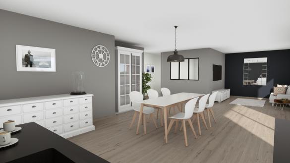 Maison+Terrain à vendre .(110 m²)(DENAIN) avec (Maison Familiale-59121-PROUVY)