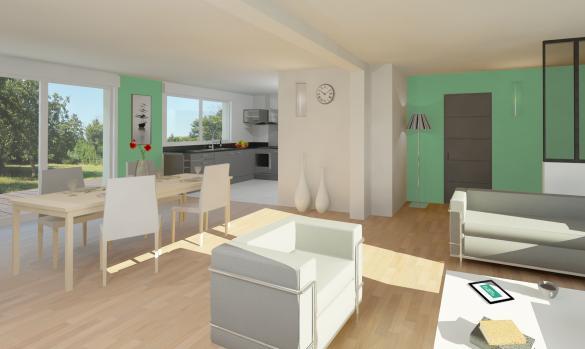 Maison+Terrain à vendre .(125 m²)(BOUSIES) avec (Maison Familiale-59121-PROUVY)