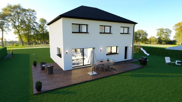 Maison+Terrain à vendre .(145 m²)(AGNY) avec (Maison Familiale Mazingarbe)