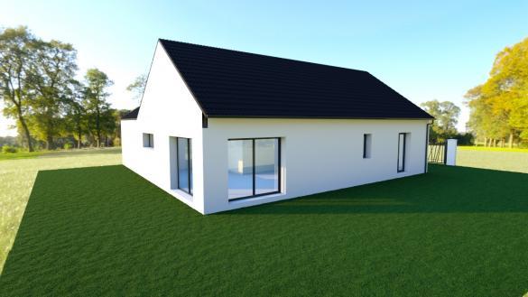 Maison+Terrain à vendre .(103 m²)(BUSNES) avec (Maison Castor Lens)