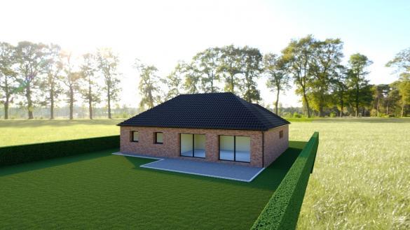 Maison+Terrain à vendre .(112 m²)(BUSNES) avec (Maison Castor Lens)