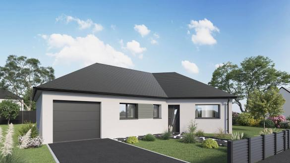 Maison+Terrain à vendre .(96 m²)(MAZINGARBE) avec (Maison Castor Lens)
