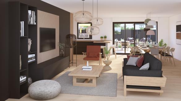 Maison+Terrain à vendre .(98 m²)(MAZINGARBE) avec (Maison Castor Lens)