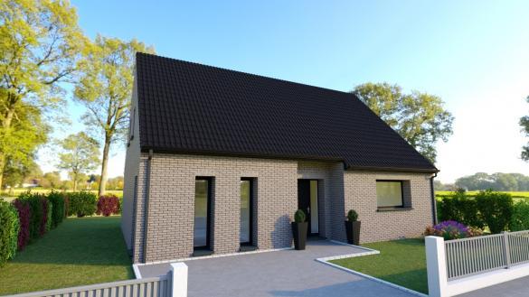 Maison+Terrain à vendre .(116 m²)(LEFOREST) avec (Maison Castor Lens)