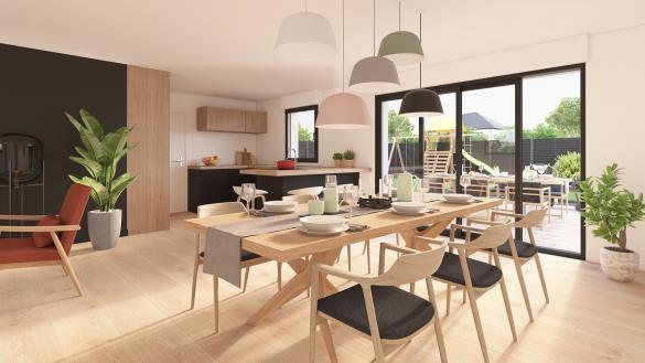 Maison+Terrain à vendre .(85 m²)(VILLEREAU) avec (Maison Castor Valenciennes)