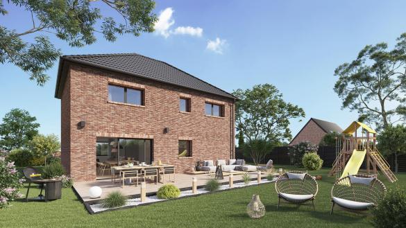 Maison+Terrain à vendre .(116 m²)(MAING) avec (Maison Castor Valenciennes)