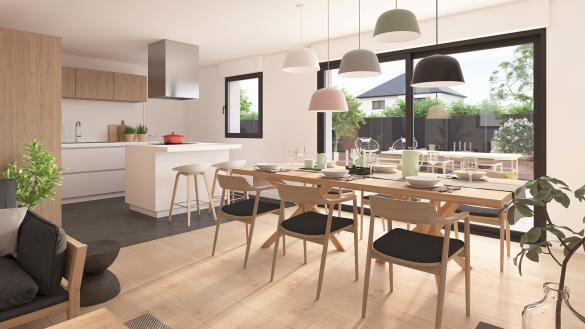 Maison+Terrain à vendre .(100 m²)(MAING) avec (Maison Castor Valenciennes)