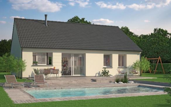 Maison+Terrain à vendre .(100 m²)(FLERS SUR NOYE) avec (Maison Familiale Amiens)