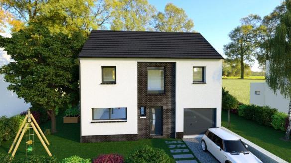 Maison+Terrain à vendre .(128 m²)(CAGNY) avec (Maison Familiale Amiens)