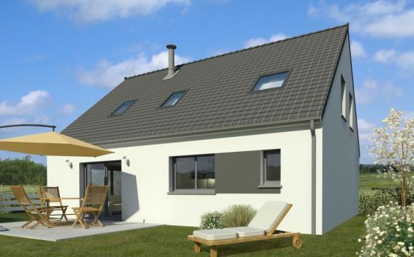 Maison+Terrain à vendre .(109 m²)(SENLIS LE SEC) avec (Maison Familiale Amiens)