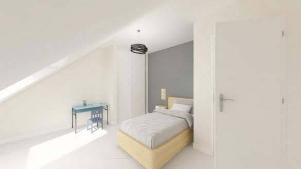 Maison+Terrain à vendre .(83 m²)(MORBECQUE) avec (Maisons Phénix Dunkerque)