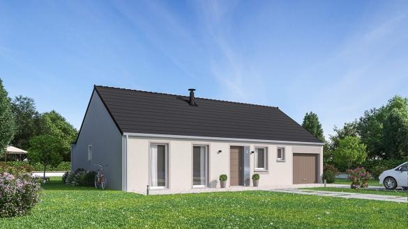 Maison+Terrain à vendre .(102 m²)(NOYELLES SUR ESCAUT) avec (MAISON FAMILIALE CAEN)