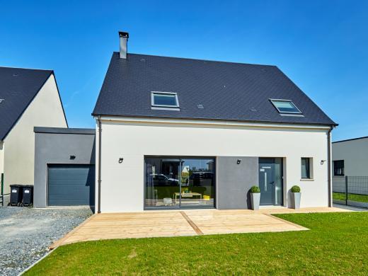 Maison+Terrain à vendre .(140 m²)(TROARN) avec (MAISON FAMILIALE CAEN)