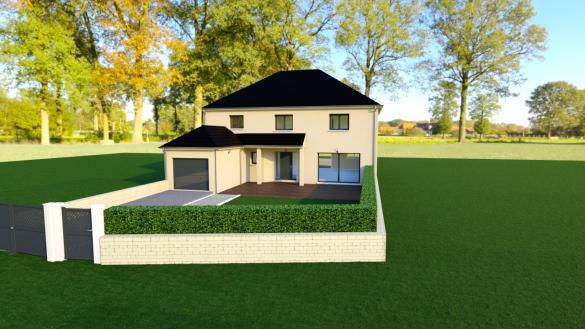 Maison+Terrain à vendre .(205 m²)(RILLY LA MONTAGNE) avec (Maison Familiale Reims)