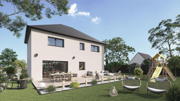 Maison+Terrain à vendre .(116 m²)(CORMICY) avec (Maison Castor Reims)