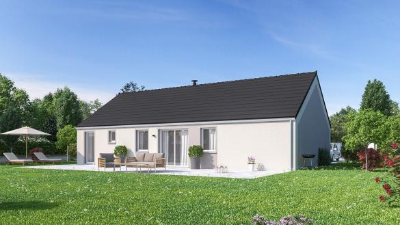 Maison+Terrain à vendre .(99 m²)(DOM LE MESNIL) avec (Maisons Phénix Cormontreuil)