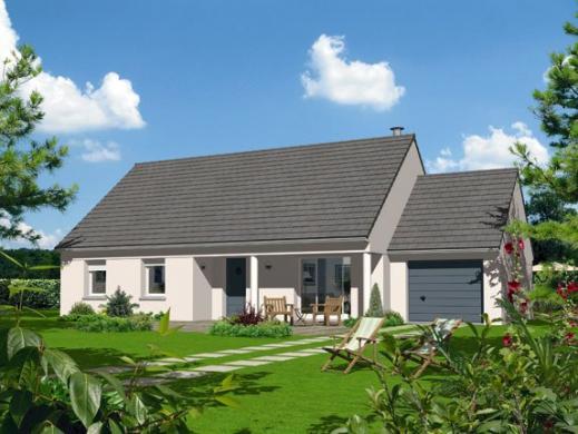 Maison+Terrain à vendre .(100 m²)(VORGES) avec (MAISON FAMILIALE SAINT QUENTIN)