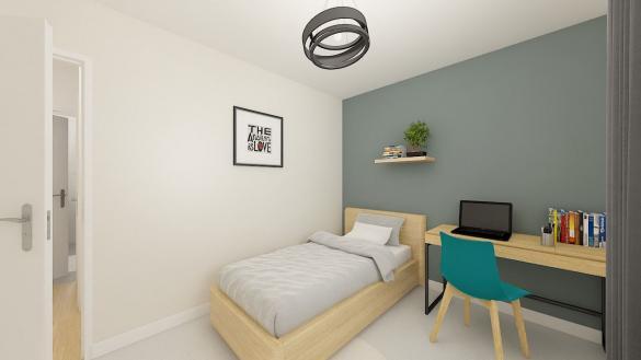 Maison+Terrain à vendre .(84 m²)(ENNEVELIN) avec (Maisons Phénix Lezennes)