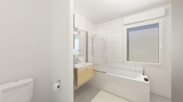 Maison+Terrain à vendre .(74 m²)(LA BASSEE) avec (MAISONS PHENIX LEZENNES)