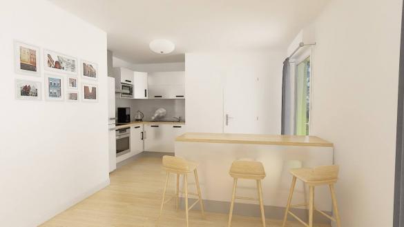 Maison+Terrain à vendre .(116 m²)(ESTAIRES) avec (Maisons Phénix Lezennes)