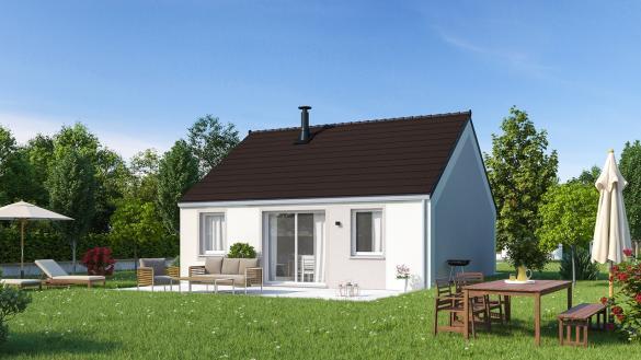 Maison+Terrain à vendre .(65 m²)(LESTREM) avec (Maisons Phénix Lezennes)