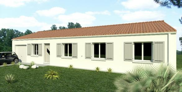Maison+Terrain à vendre .(117 m²)(LES MATHES) avec (BERMAX CONSTRUCTION)
