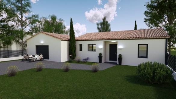 Maison+Terrain à vendre .(99 m²)(LES MATHES) avec (BERMAX CONSTRUCTION)