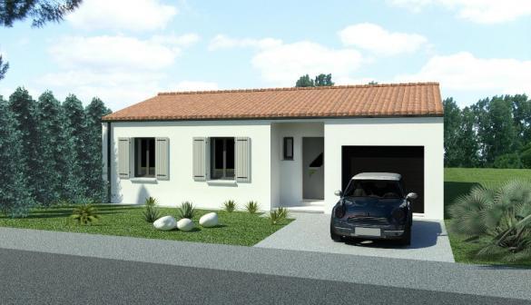 Maison+Terrain à vendre .(82 m²)(LA TREMBLADE) avec (BERMAX CONSTRUCTION)