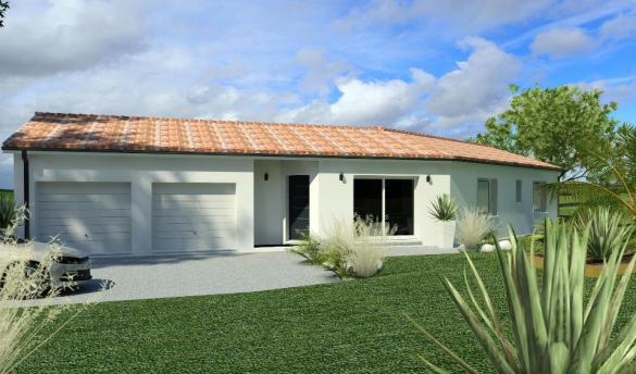 Maison+Terrain à vendre .(110 m²)(ARVERT) avec (BERMAX CONSTRUCTION)
