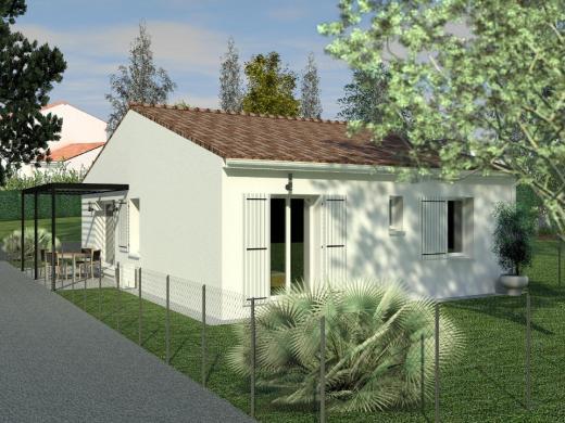 Maison+Terrain à vendre .(60 m²)(ARVERT) avec (BERMAX CONSTRUCTION)